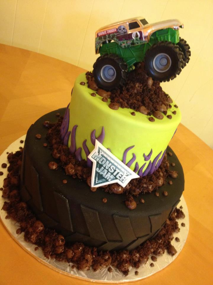 Grave Digger Birthday Cake Ideas